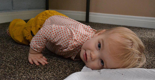 Mama, Dada, I'm ready for a Nap Schedule! 5 signs your baby is ready for 'time of day' naps.